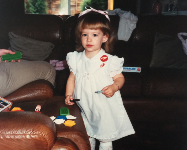 CiCi at 2 years old