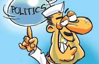 desen cu politică
