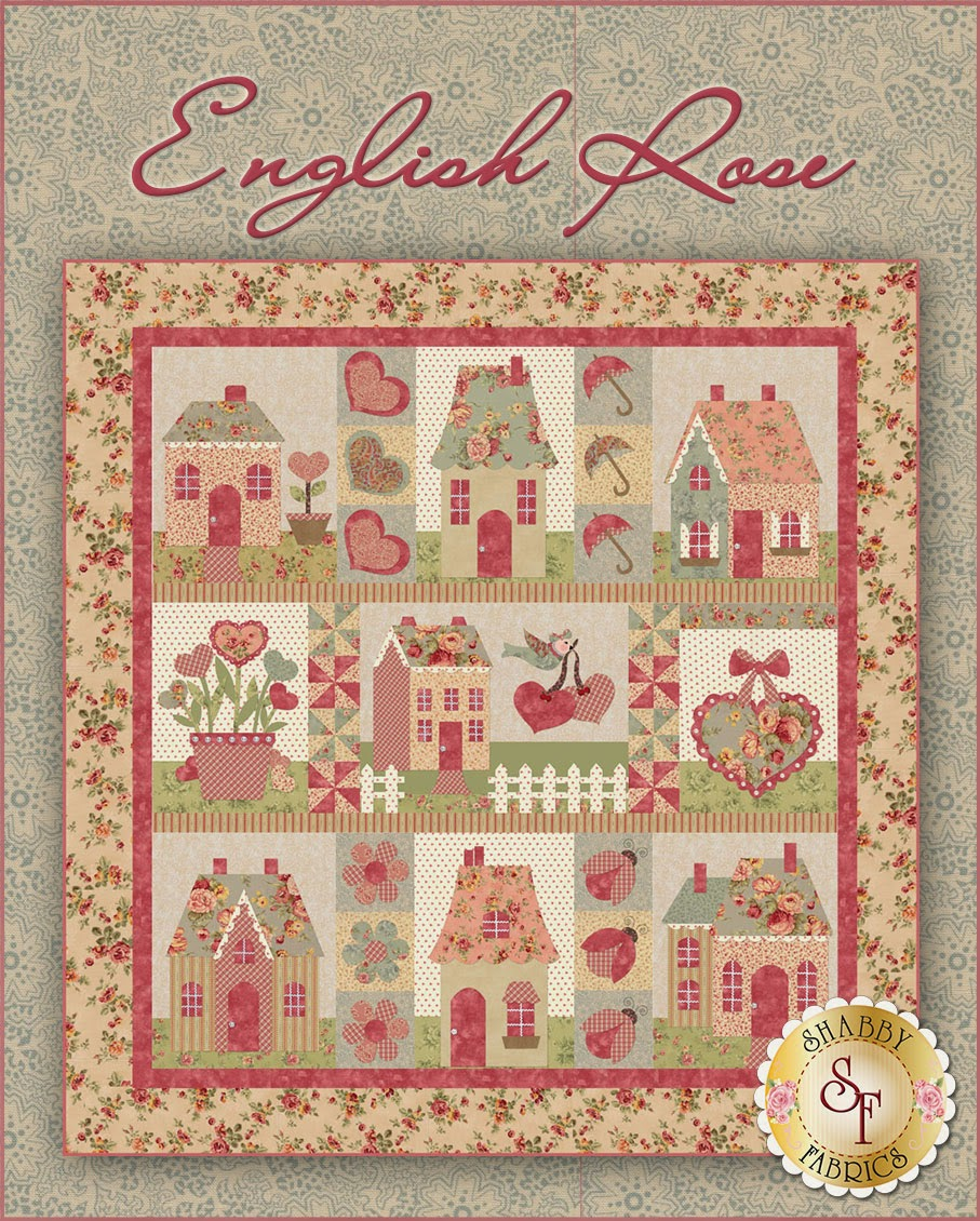 English Rose | Shabby Fabrics Exclusive