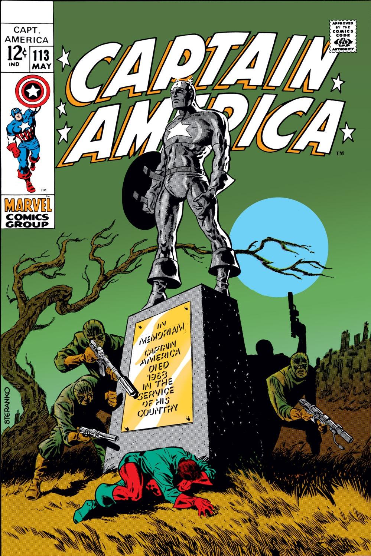 Captain America (1968) Issue #113 #27 - English 1