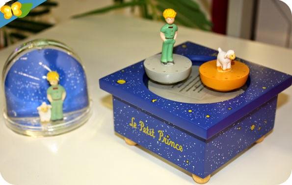 Boule à neige et boîte à musique Le petit prince - Trousselier