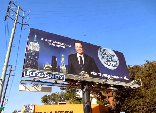 Tonight Show Jimmy Fallon billboard