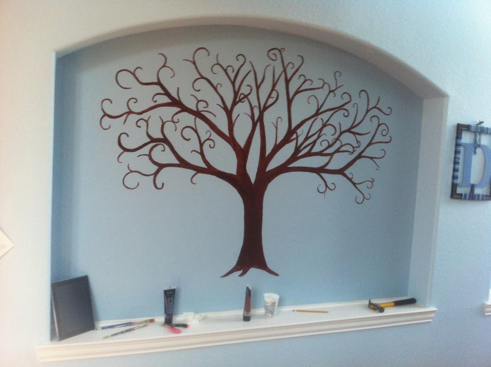 DIY Duffy: Family Tree Wall Display