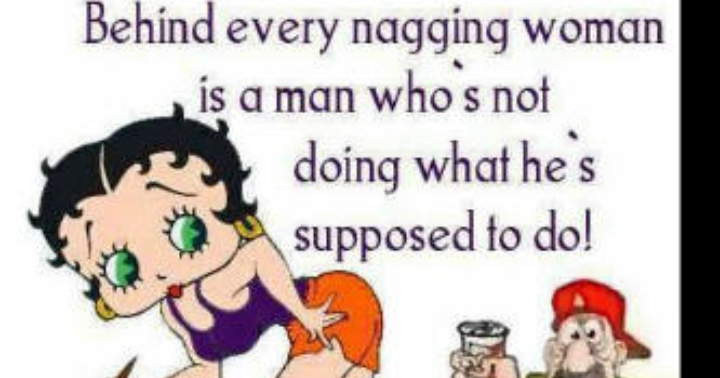 meaning of nagging wife