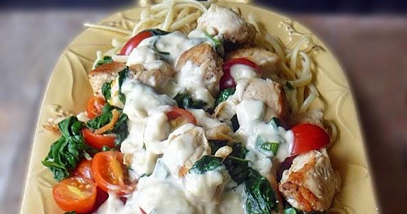 Chicken Florentine Pasta Recipe | Life Tastes Good
