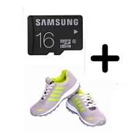 Buy Spelax Grey Sports Shoes Free 16GB Samsung Memory Card at  Rs.299 after cashback Via Paytm