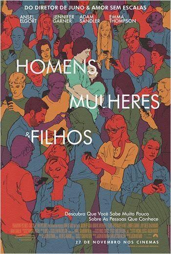 """Poster do filme """"Homens, Mulheres e Filhos"""""""
