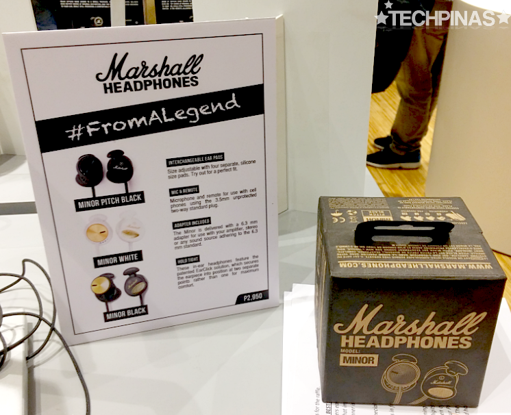 Marshall Earphones, Marshall Minor