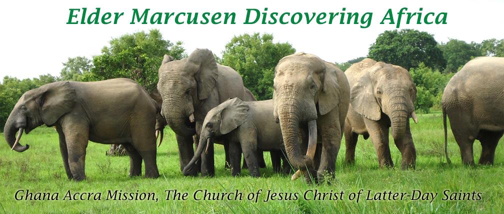 Elder Marcusen Discovering Africa