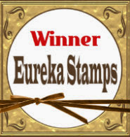 Non Eureka stamp winner on 17.3.14