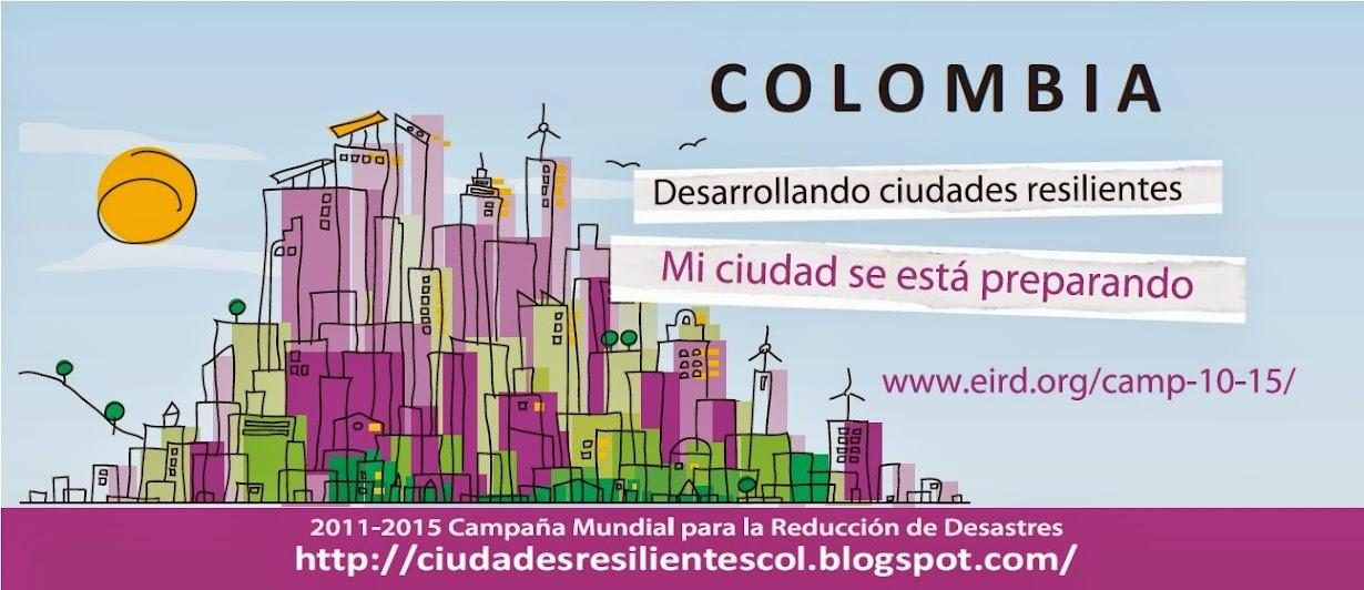 CIUDADES RESILIENTES COLOMBIA