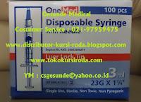 syringe needles
