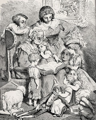 Mother Goose, by Gustave Doré - via Wikimedia Commons - public domain