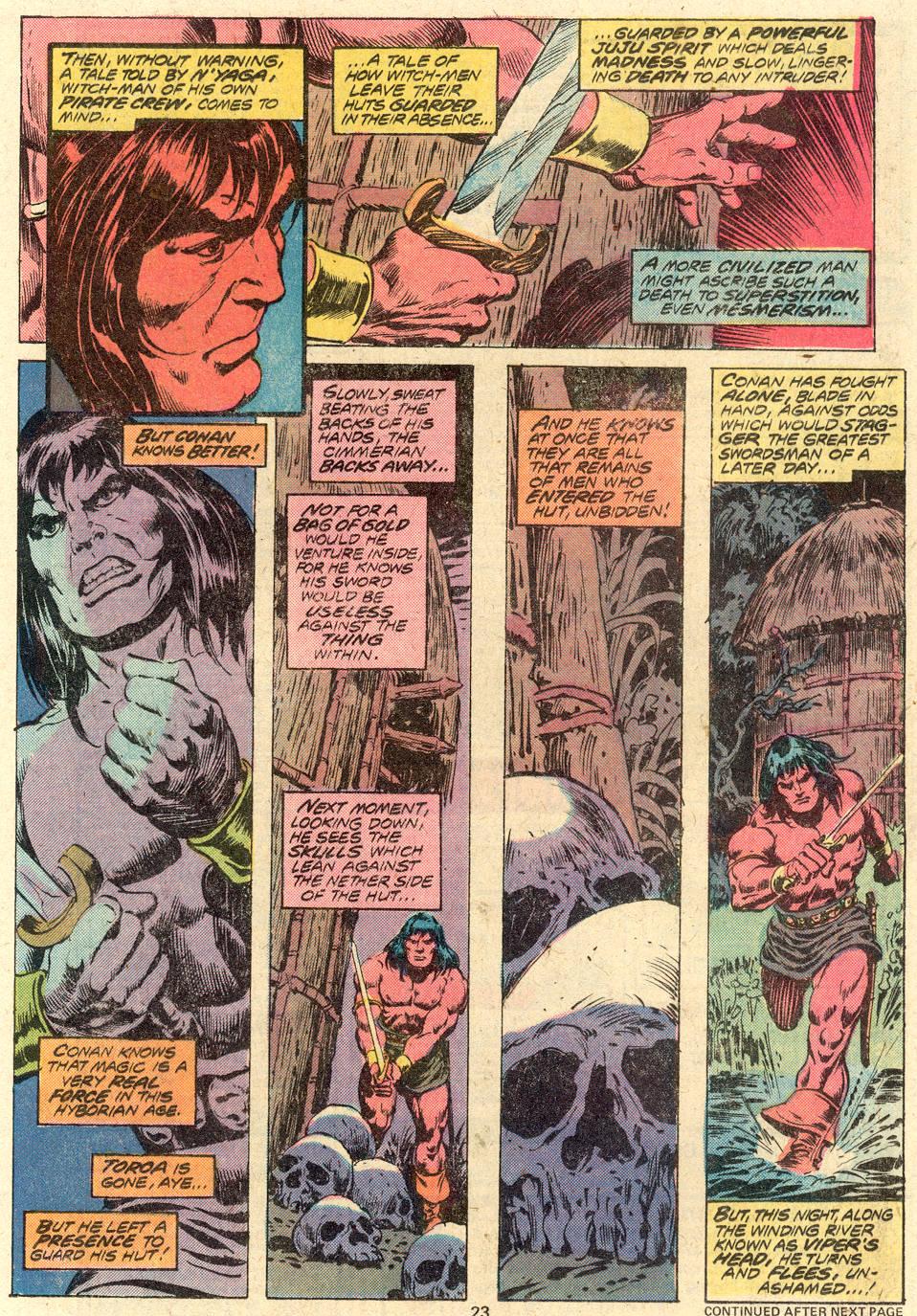 Conan the Barbarian (1970) Issue #82 #94 - English 16