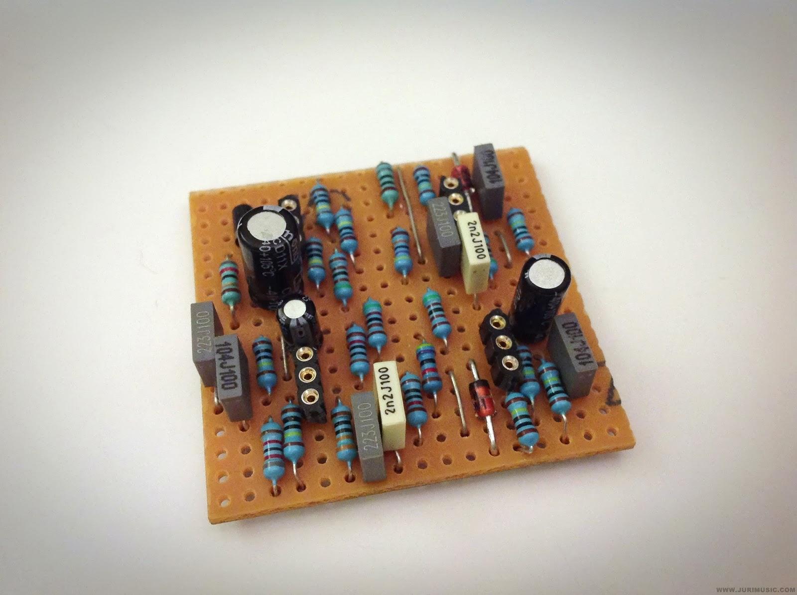 Zvex Box Of Rock Clone Live Looping Guitar Effect Circuit