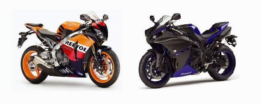 Canal duas rodas cbr 1000rr x yamaha r1 for Yamaha rr 1000
