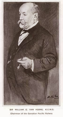 Caricatura de William Van Horne