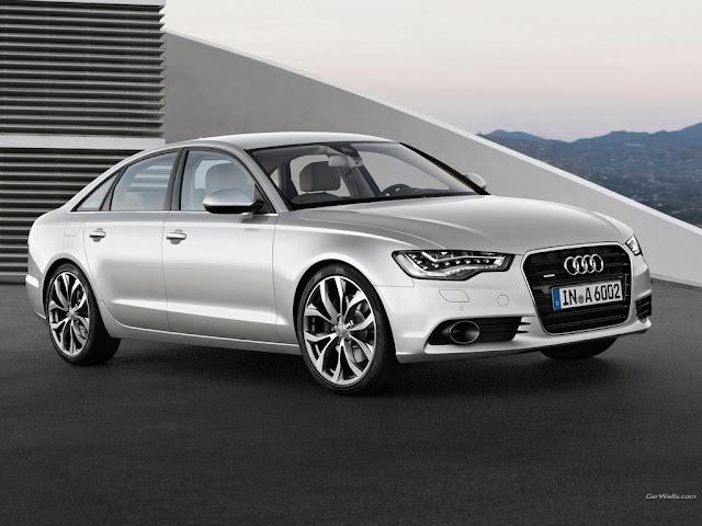 Audi A6 side photo