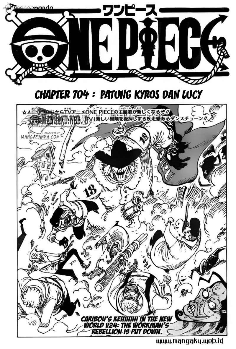 Komik one piece 704 - Patung kyros dan lucy 705 Indonesia one piece 704 - Patung kyros dan lucy Terbaru 1|Baca Manga Komik Indonesia|Mangacan