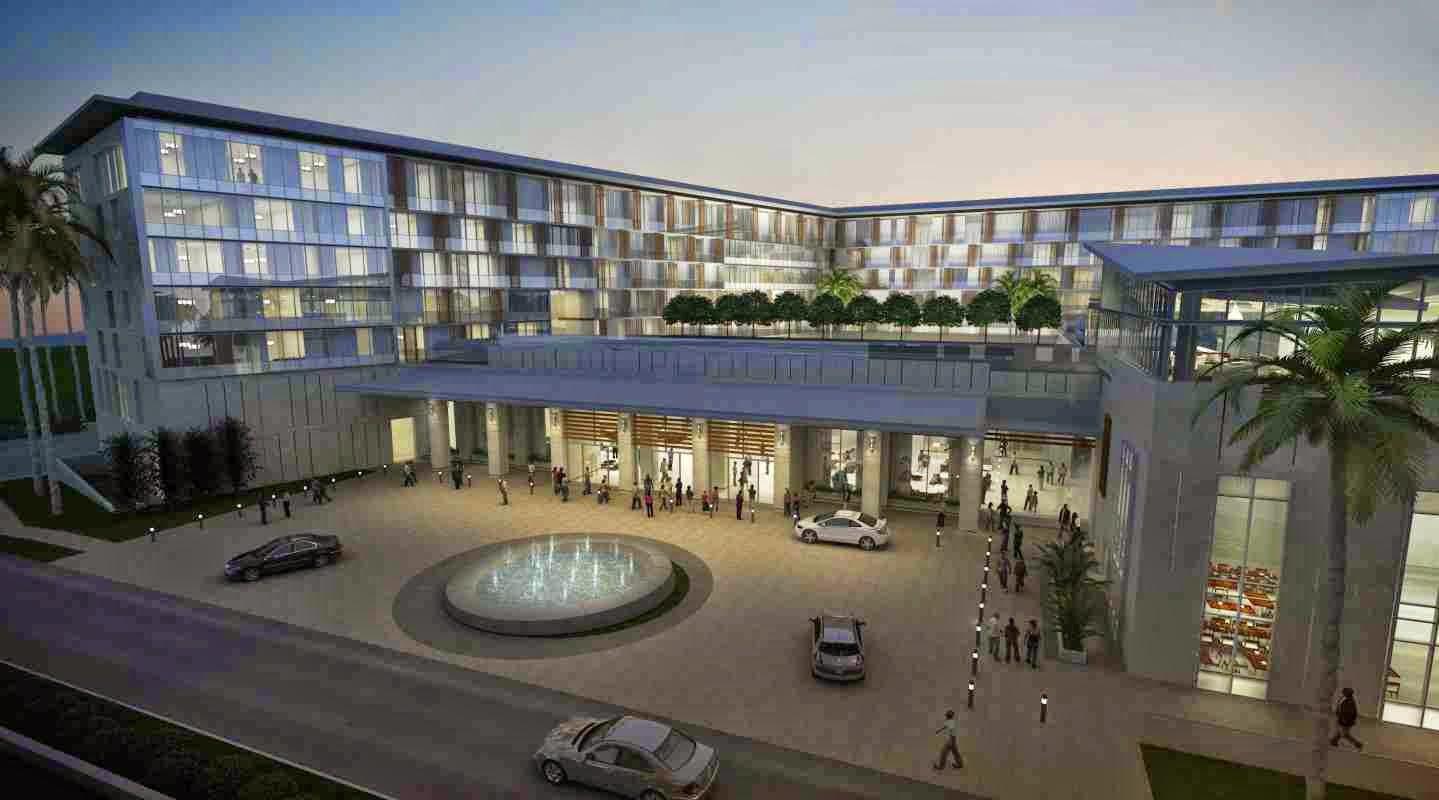 Kempinski Hotel Gold Coast City Accra Ghana