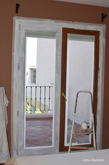 www.annecharriere.com, proyecto pintura dormitorio invitados,