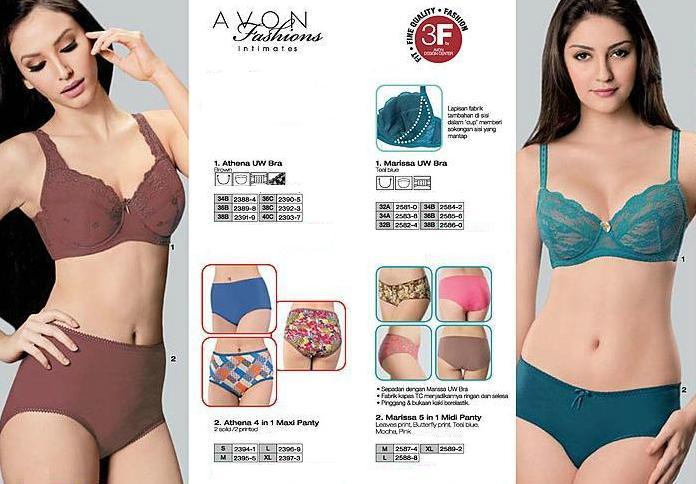Avon bra catalogue