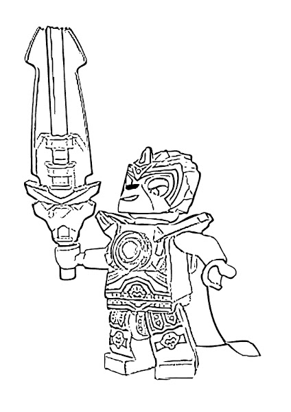 Lego Chima Coloring Pages Lion | coloring.download