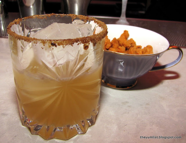 Johnnie Nut Crusta cocktail at Omakase + Appreciation, best cocktails, Kuala Lumpur