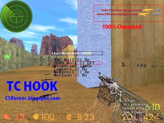 tc+hook - Counter Strike 1.6 Best Aim Hack Download [CD Hack]