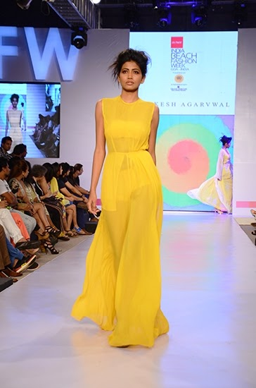 Top 2015 Tips and Trends for Indian Beach Weddings | Raakesh Agarwal collection at India Beach Fashion Week