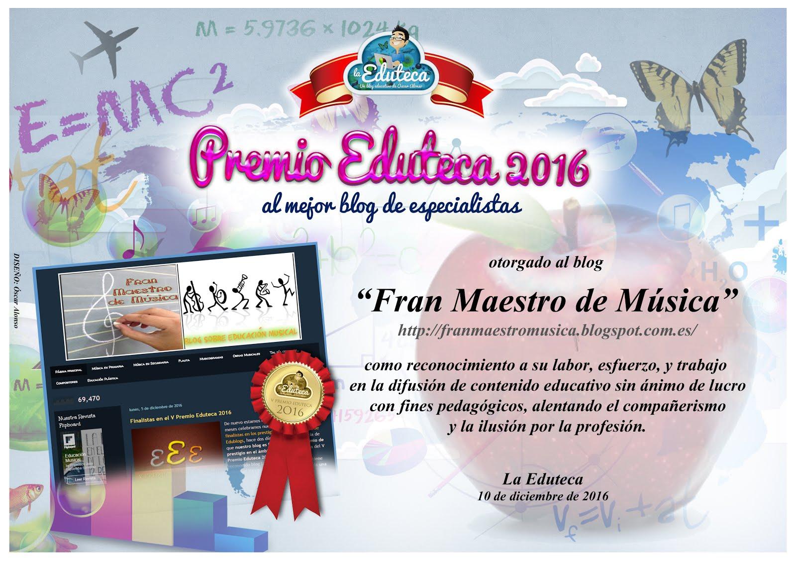 Premio Eduteca 2016