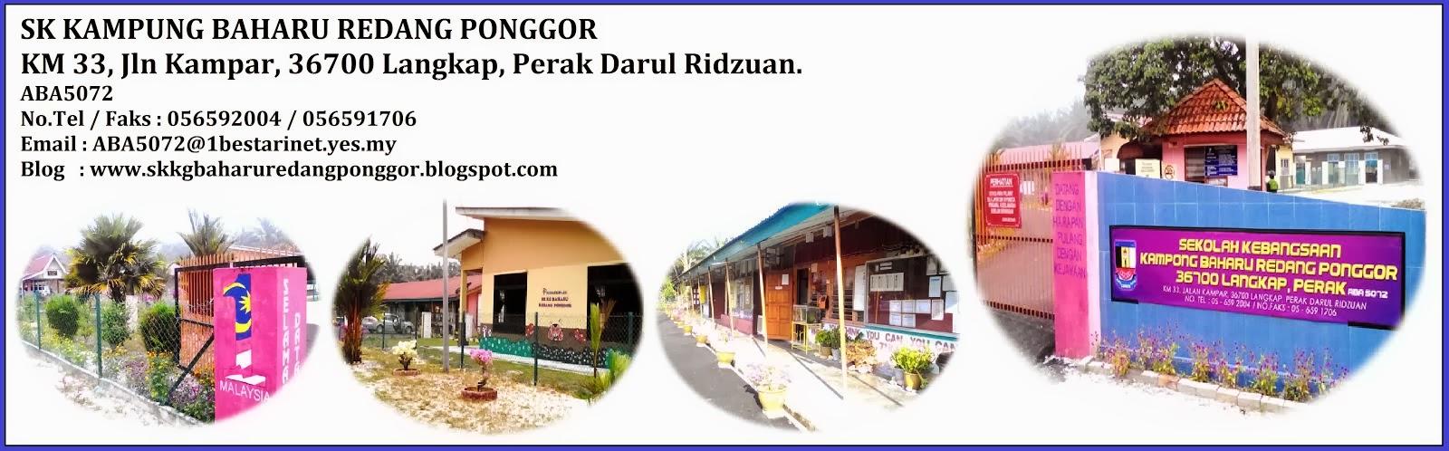 SK KG BAHARU REDANG PONGGOR