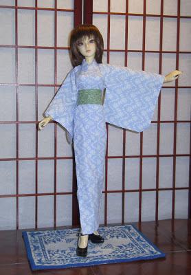 Sewing Box Designs SD BJD Yukata Kimono
