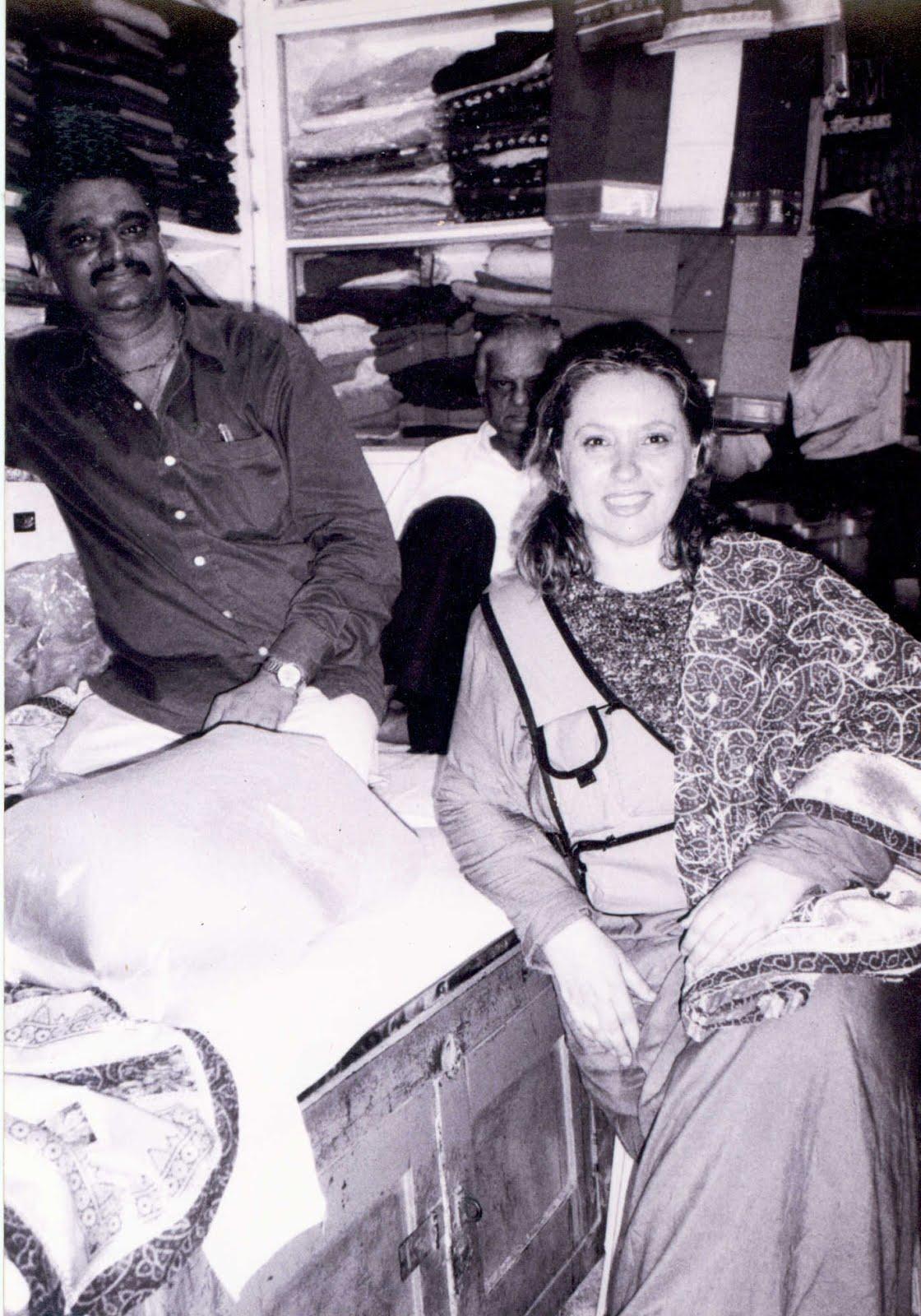 Bombay - il mercato dei tessuti