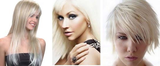 cabelos loiros 2013 platinado Cabelos Loiros 2013   Cores, Tons e Tendências