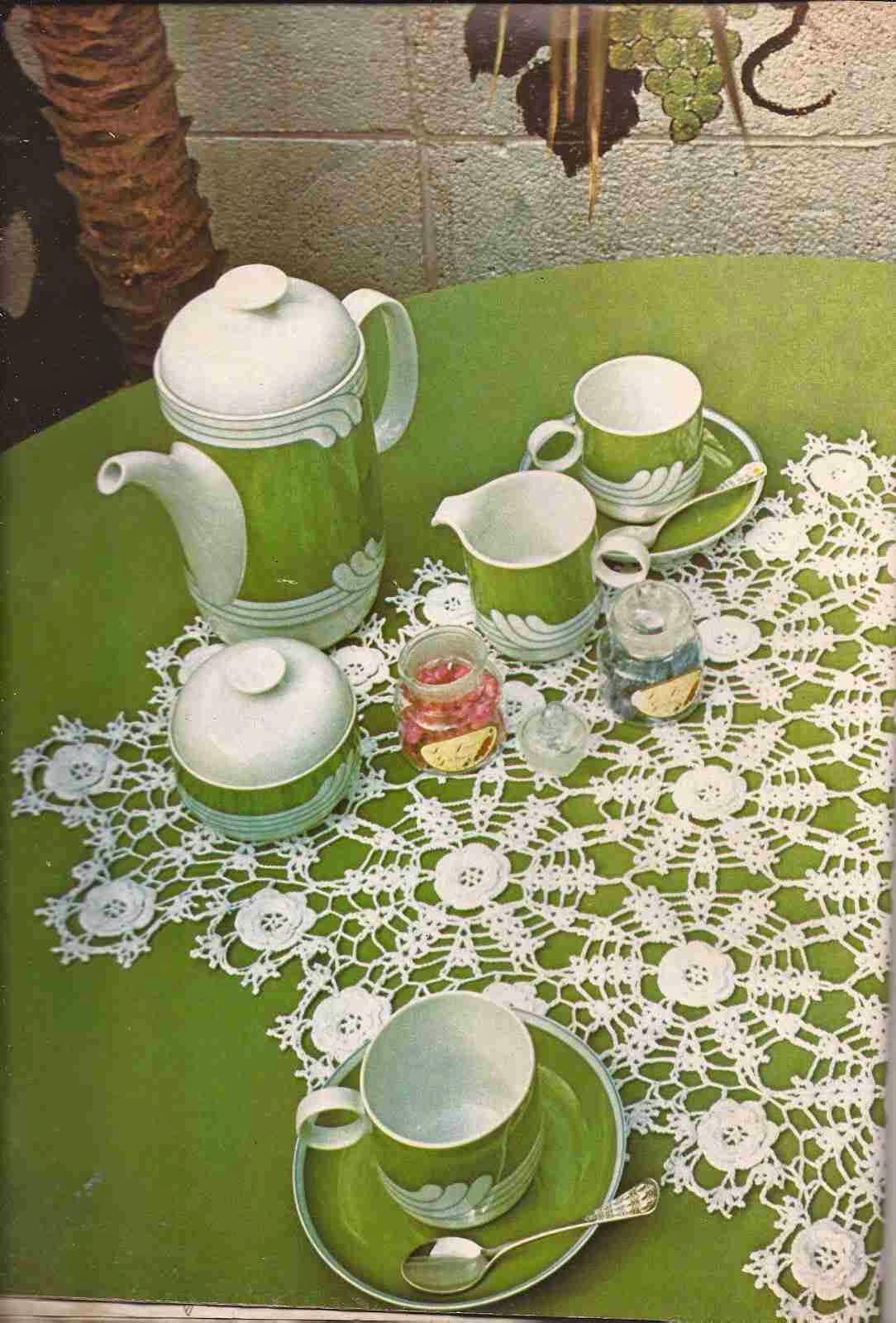 Revista 1 ganchillo artistico num 4 ctejidas crochet - Centros de mesa de ganchillo ...