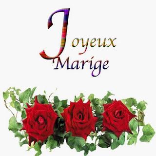 Joyeux mariage texte