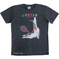 Yoga Unicorn Cobra Pose Exhale Short Sleeve Men's T-shirt