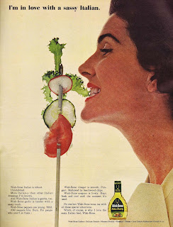 1964 ad for Wish Bone Italian Dressing