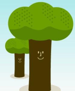 image Happy Trees PrintFriendly Screen shot