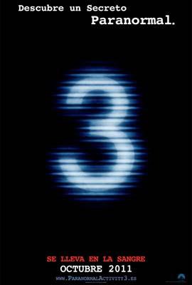 Poster de Atividade Paranormal 3