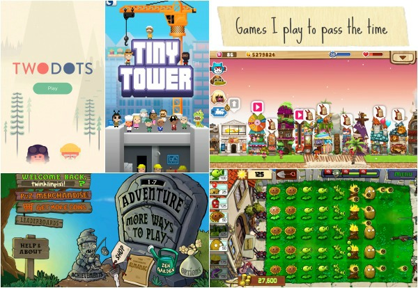 The games I play]