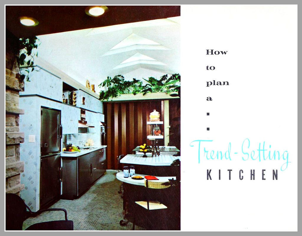 1958 KITCHEN AND LAUNDRY  Http://everythingcroton.blogspot.com/2015/06/the 1958 Kitchen Laundry.html