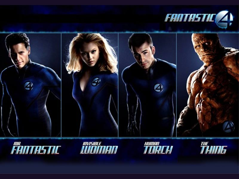 Los 4 Fantásticos primera película
