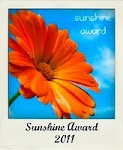 Premio Sunshine Award 2011