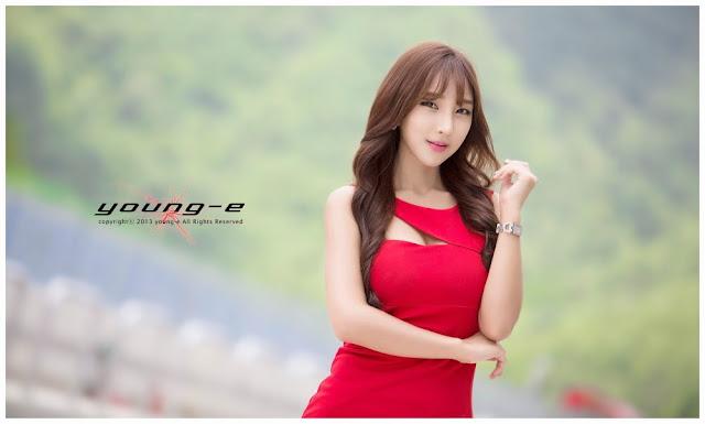1 Mina - Asian Le Mans Series 2013  -Very cute asian girl - girlcute4u.blogspot.com