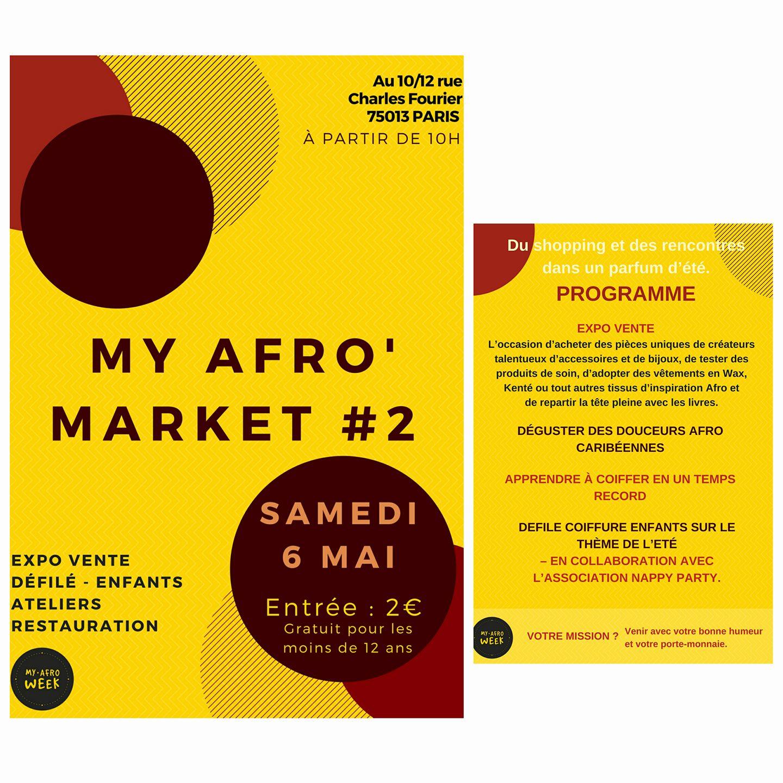 Stop the Lye X My Afro Market #2