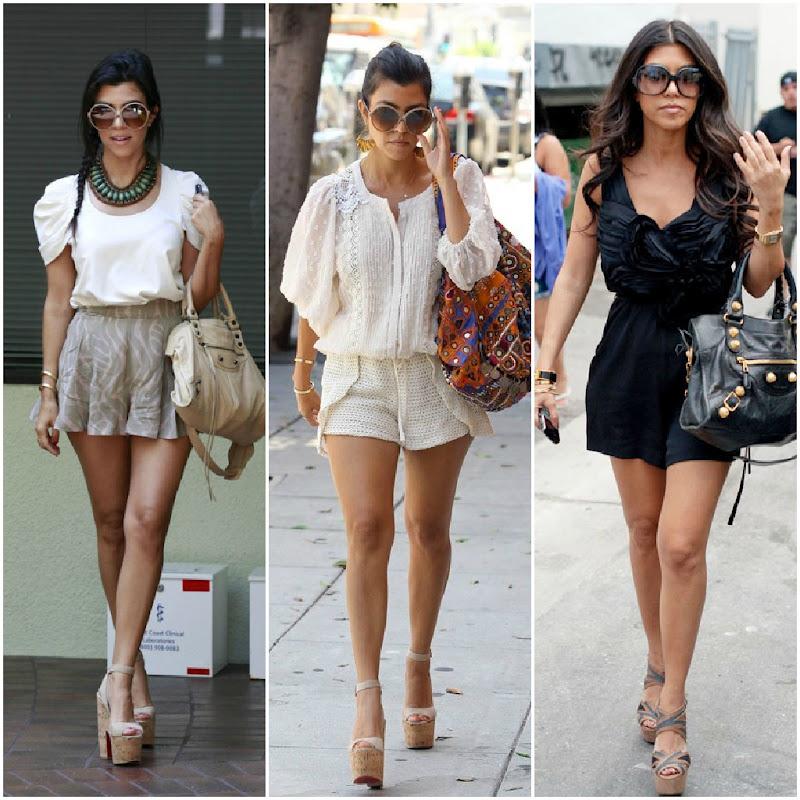Fashion Land Style Crush Kourtney Kardashian