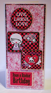 Kanban So Macho and So Feminine die cut toppers & card