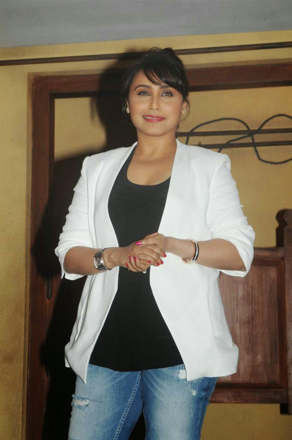 Rani Mukerji At 'Mardaani' Movie Trailer Launch